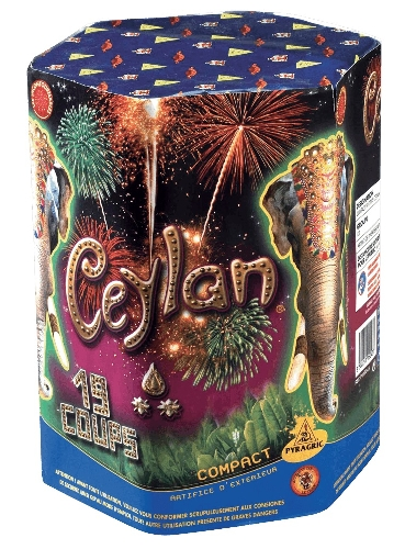FEU d'ARTIFICE - BOUQUET FINAL - CEYLAN